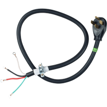 See Details - 4' 4-Wire 40 amp Range Cord