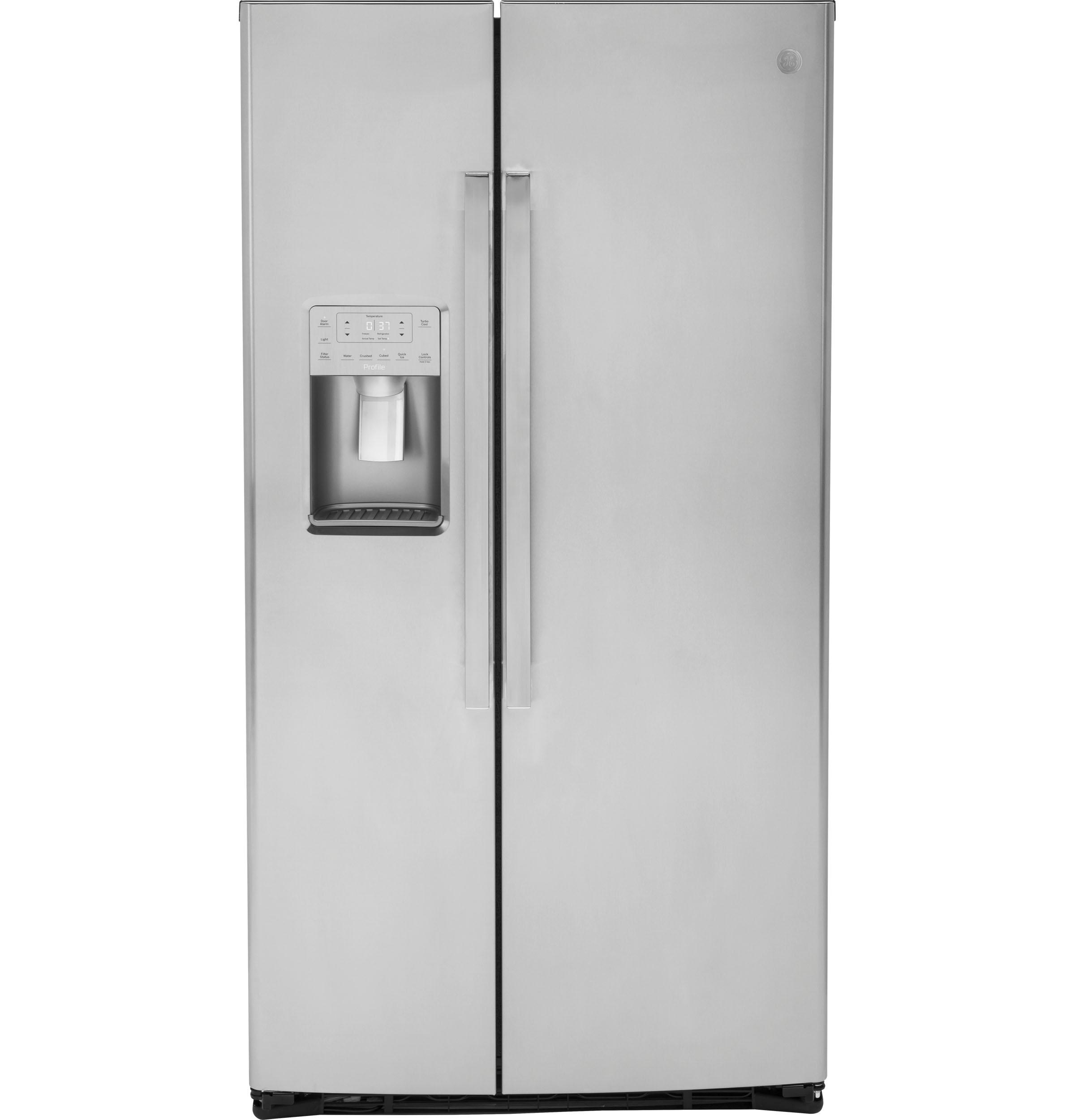GEGe Profile™ Series Energy Star® 25.3 Cu. Ft. Side-By-Side Refrigerator