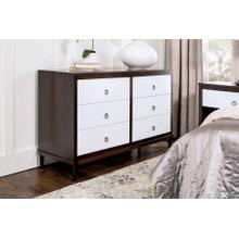 "SYO Inset 6-Drawer Dresser, 60 1/2""w"