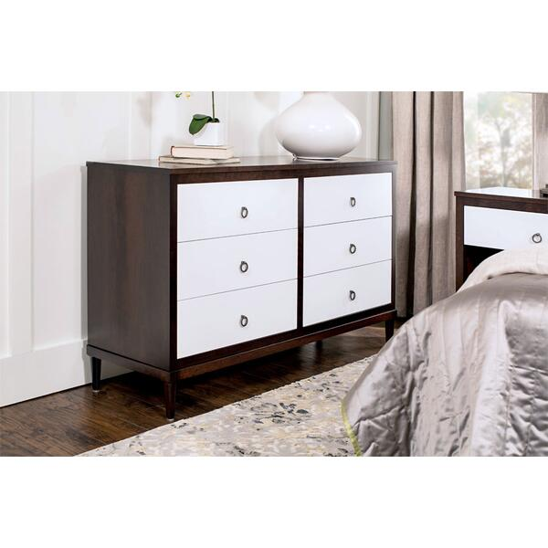 "SYO Inset 6-Drawer Dresser, 60 1/2""w"