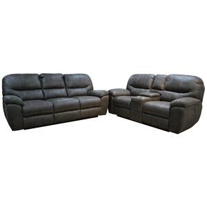 Power Reclining Sofa w/USB
