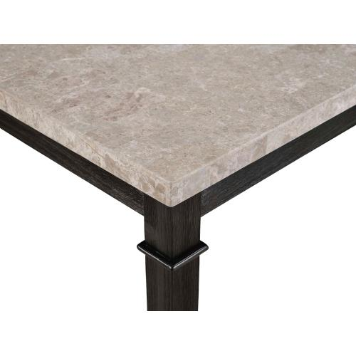 Greystone Marble Counter Set - Table and 4 Barstools