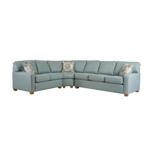 Capris configurable sectional. Build your sectional from the pieces below.
