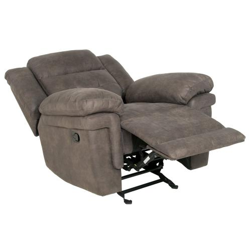 Anastasia Manual Glider Recliner, Grey