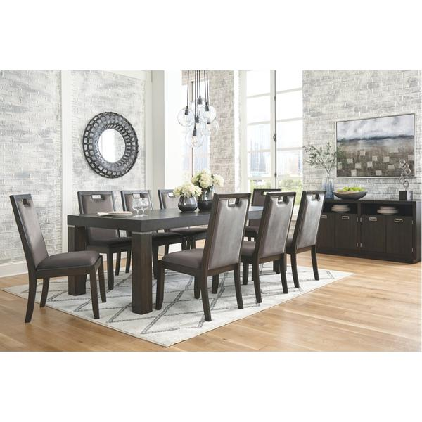 See Details - Dining Table and 8 Chairs With Storage