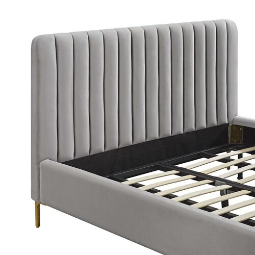 Angela Grey Bed in King