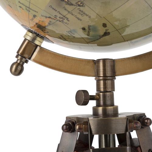 A & B Home - Globe On Tripod