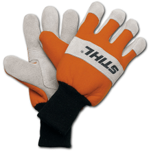 These leather Work Gloves are durable and breathable for extended use.