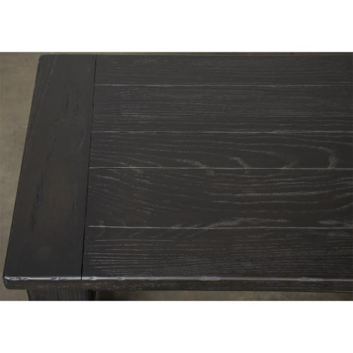Mckenzie - Dining Bench - Matte Black Finish
