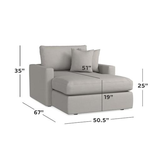 Bassett Furniture - Allure Two Arm Chaise