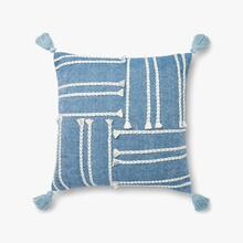 P4117 ED Blue / White Pillow