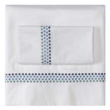 Jewels Sheet Set, Cases and Shams, BLUE, QN