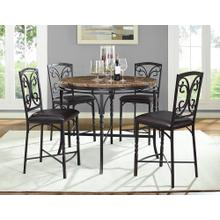 See Details - 4552/4553  Tuscan Faux Marble Counter Table