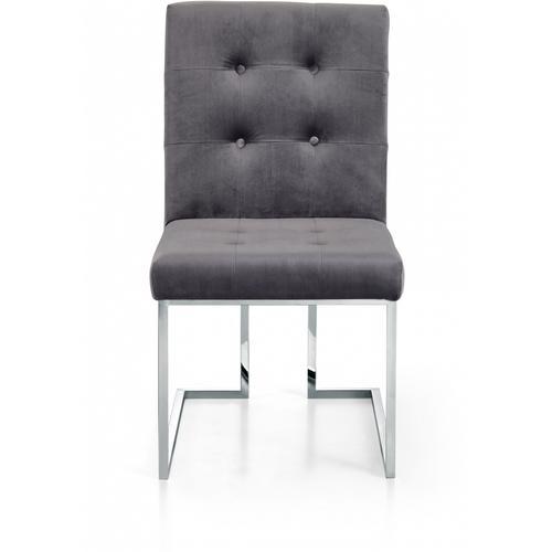 "Alexis Velvet Dining Chair - 18.5"" W x 25"" D x 36.5"" H"