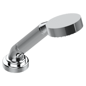 Deck mounted hand shower, with hose