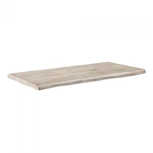 Aspen Cocktail Table Top - Rustic Grey