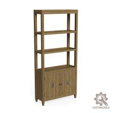 See Details - Atlas Bookcase, Unfinished