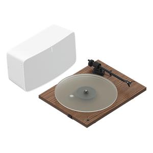 Walnut- Vinyl Set