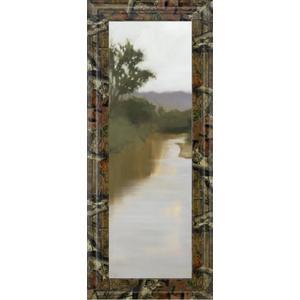 "Classy Art - ""River Journey"" By Megan Lightell Framed Print Wall Art"