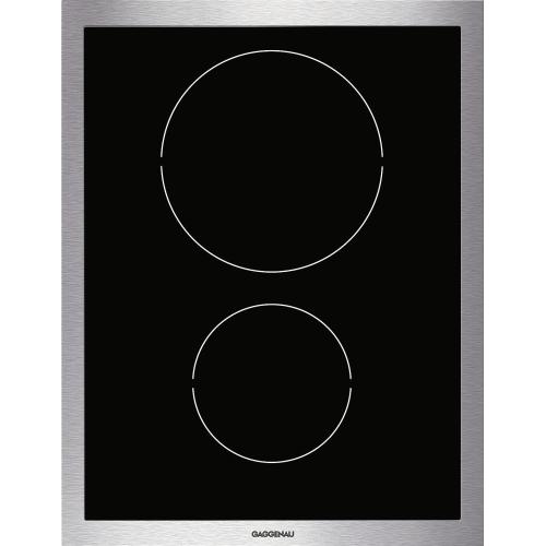 Gaggenau - Vario induction cooktop 400 series VI 424 610 Stainless steel frame Width 15 ''