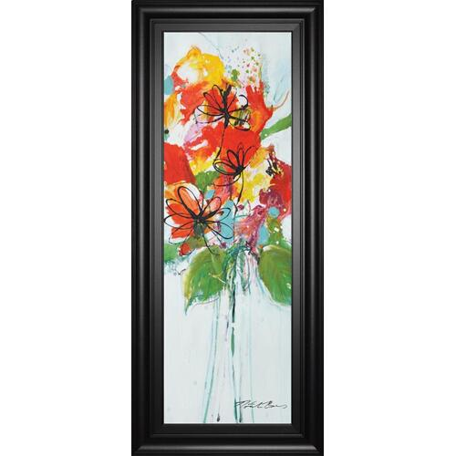 "Classy Art - ""Sensations I"" By Natasha Barnes Framed Print Wall Art"