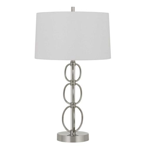150W 3 Way Bree Metal Table Lamp