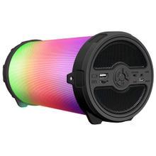 LED Light Cylinder Shaped Bluetooth Speaker