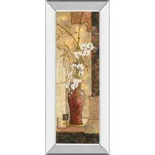 """Asian Flower Il"" Mirror Framed Print Wall Art"