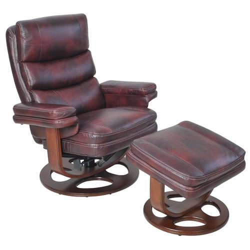 Bella 15-8023 Pedestal Chair and Ottoman