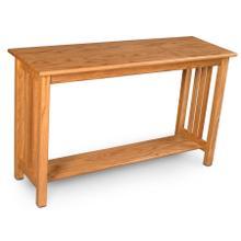 "Mission Sofa Table, Mission Sofa Table, 48""w"