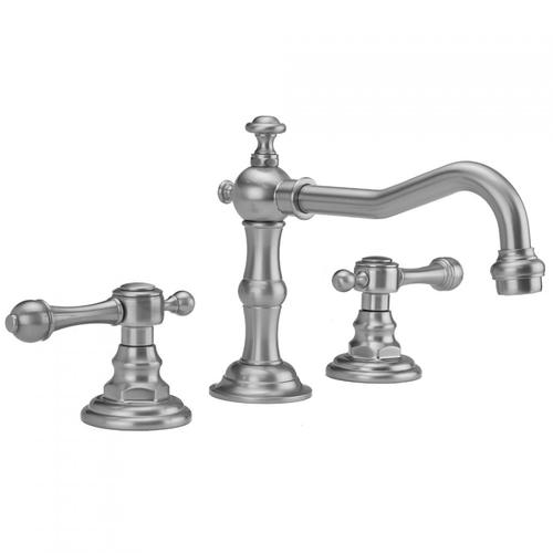 Polished Brass - Roaring 20's Faucet with Majesty Lever Handles & Fully Polished & Plated Pop-Up Drain