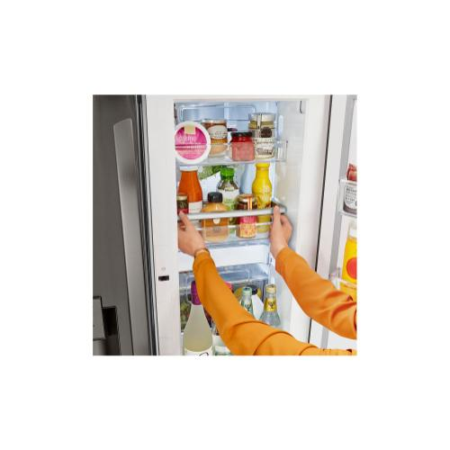 24 cu. ft. Smart wi-fi Enabled Door-in-Door® Counter-Depth Refrigerator with Craft Ice™ Maker