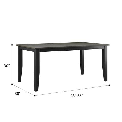 Removable Leaf Dining Table
