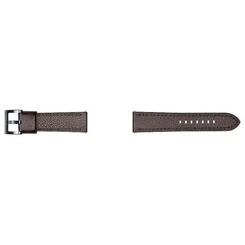 Gallery - Leather Strap Seta (22mm) Dark Brown