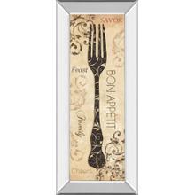"""""""Bon Appetite"""" By Dee Dee Mirror Framed Print Wall Art"""