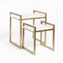 Santa Barbara Nesting Tables