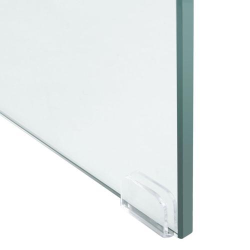 Safavieh - Kayley Console Table - Glass / Grey Oak