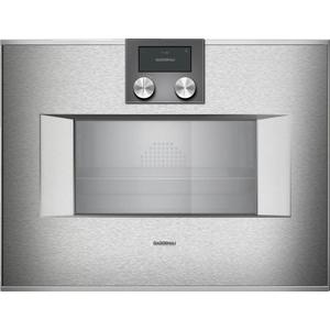 Gaggenau400 Series Combi-steam Oven 24'' Door Hinge: Right, Door Hinge: Right, Stainless Steel Behind Glass