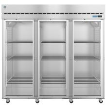 R3A-FG, Refrigerator, Three Section Upright, Full Glass Doors with Lock