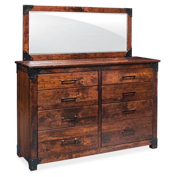 See Details - Kodiak 8-Drawer Bureau, 59 'w x 21 'd x 47'h