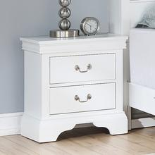 Louis Night Stand, White