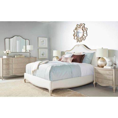 A.R.T. Furniture - Charme King Upholstered Panel Bed