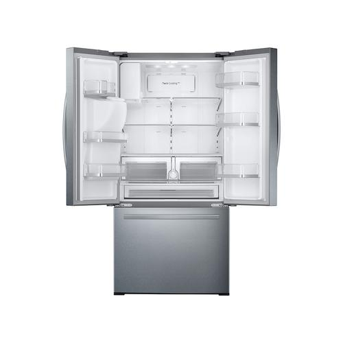 26 cu. ft. 3-Door French Door Refrigerator with External Water & Ice Dispenser in Stainless Steel