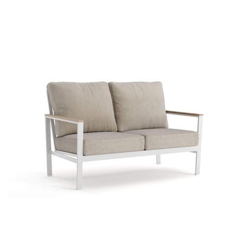 Winston - Echo Cushion Loveseat Fog