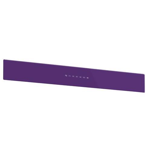 BEST Range Hoods - UCB3 36'' Front Glass Panel Purple