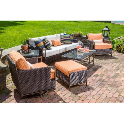 """Alfresco Home - Lexington 47"""" Rectangular Coffee Table"""