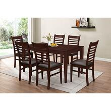7812 BROWN 7PC Dining Room SET