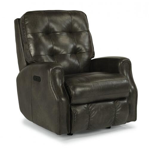 Devon Power Rocking Recliner with Power Headrest