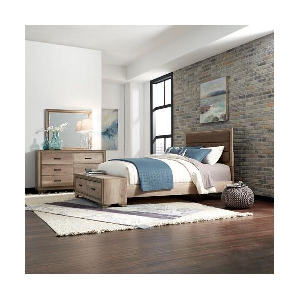 See Details - King California Storage Bed, Dresser & Mirror