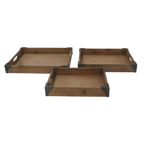 Crestview Collections - Rustic Trays